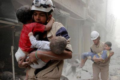El infierno de Alepo y las oraciones de los ni�os