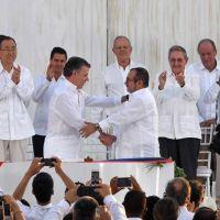 Hist�rico: Colombia firm� la paz luego de medio siglo de guerra