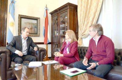 Bordet se reunió con Juan José Bahillo y Rosario Romero