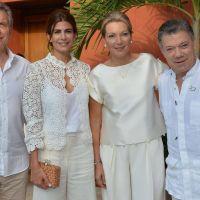 Mauricio Macri particip� de la ceremonia en Colombia