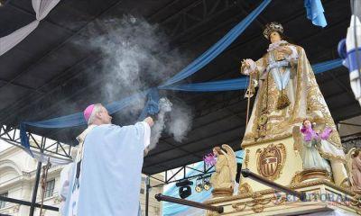 Con gran fervor Corrientes honr� a su patrona la Virgen de la Merced