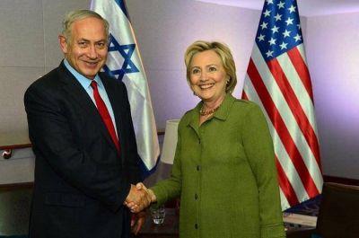 Clinton a Netanyahu: ''Me opondré a resoluciones unilaterales en la ONU''