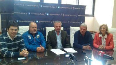 Rossi anunció compra de más tierras para viviendas y el viejo Cuartel de Bomberos
