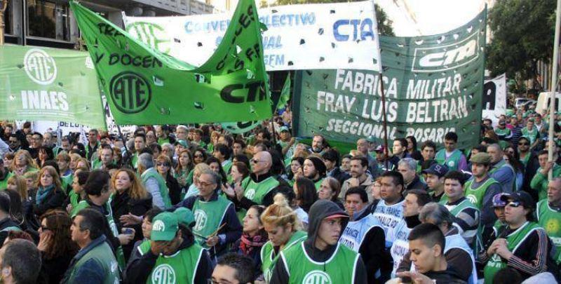 El paro de ATE se hará sentir en Tucumán: cese de actividades y cortes sorpresivos