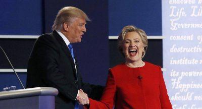 Clinton y Trump midieron fuerzas en primer debate presidencial