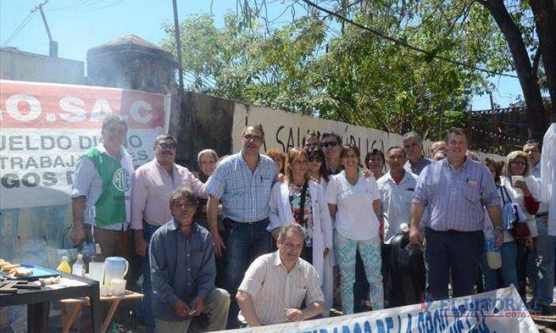 El paro nacional de médicos y docentes replicó en Corrientes con dispar adhesión