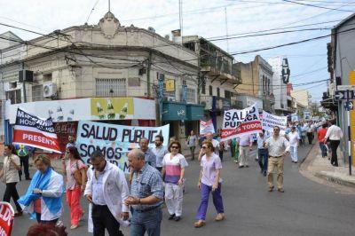 El gobernador Colombi recibió a un sector del gremialismo local