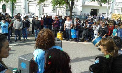 Gremios se manifestaron en Santa Rosa
