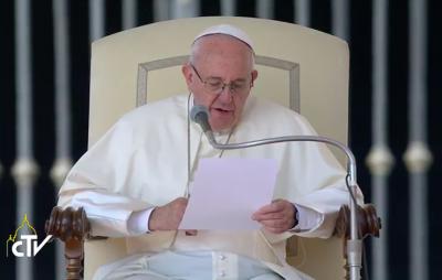 """El Papa asegura que la Iglesia """"no es solo para los buenos"""""""