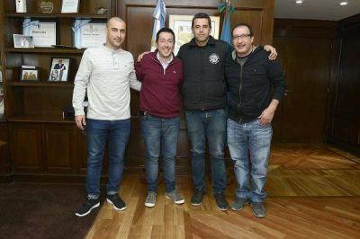 Nardini recibi� al nuevo secretario general de la UOM San Miguel