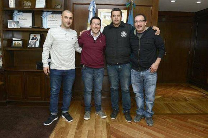 Nardini recibió al nuevo secretario general de la UOM San Miguel