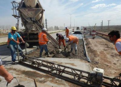 Mejoran el asfalto en un tramo de la Autopista de las Serran�as Puntanas