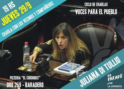 Juliana di Tullio en Baradero