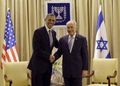 Barack Obama: �Tod�rav�, ShimonPeres�