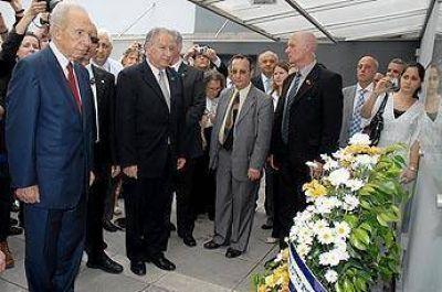 La visita de Shimon Peres a la Argentina