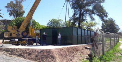 La Planta Depuradora del Hotel Azahar estará lista en dos meses
