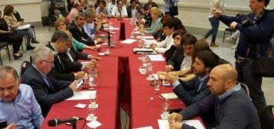 Dirigentes del FpV y el PJ de la sección se reunieron por el Presupuesto bonaerense