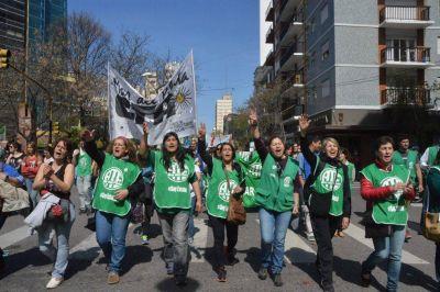 Paro de la CTA: gremios y organizaciones sociales marcharon por el centro