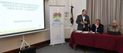 ACUERDAN PUNTOS ESTRATÉGICOS PARA CONSOLIDAR EL PROYECTO FERROVIARIO JUJUY-LA QUIACA