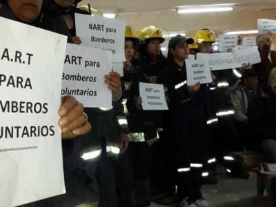Entra en comisión el proyecto de Art para bomberos voluntarios