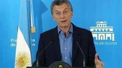 Mauricio Macri, sobre la situaci�n de pobreza en la Argentina: