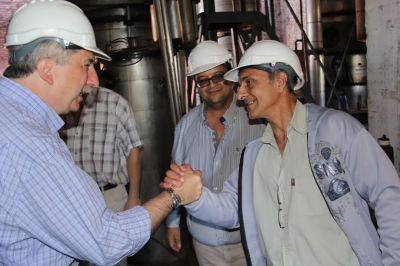 """""""Estamos produciendo un 25 por ciento más de azúcar que el año pasado"""", aseguró Passalacqua"""