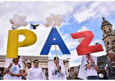El anhelo de paz de la Iglesia y del pueblo en Colombia