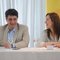 Vidal asumi� la presidencia del Pro bonaerense junto a Jorge Macri