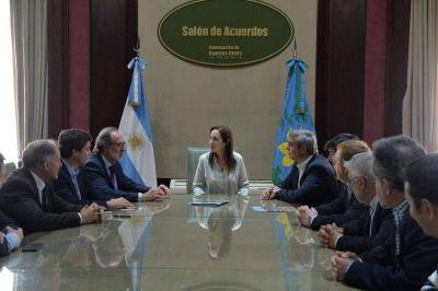 María Eugenia Vidal firmó un Convenio con Nación para Obras de Cloacas y Agua Potable en San Antonio de Areco