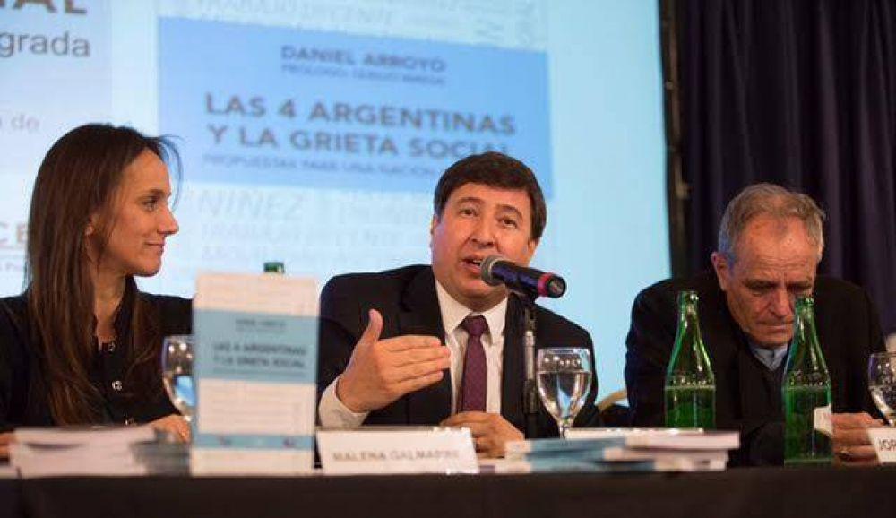 """Daniel Arroyo: """"La grieta es social, no política"""""""