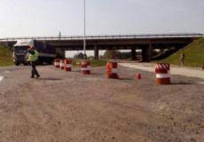 Ruta 191 y 9: Contin�an los trabajos de reparaci�n