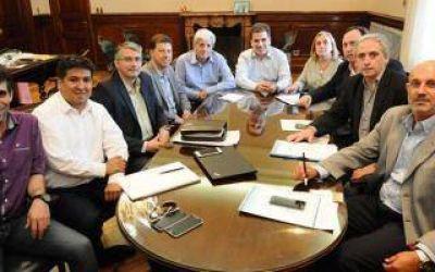 Ritondo recibió a intendentes del Frente Renovador en La Plata