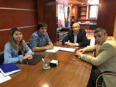 El SPAR le confirm� a Hugo Fern�ndez la ampliaci�n de pozos y de la red de agua en Claromec�