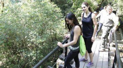 Inauguraron el tercer puente del Funicular en Horco Molle