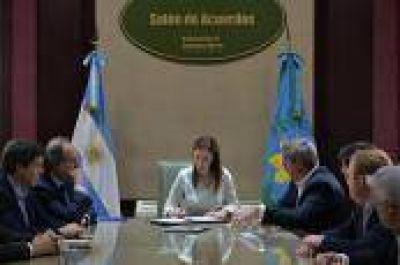 San Antonio de Areco: Vidal firmó un convenio con Nación para obras de cloacas y agua potable