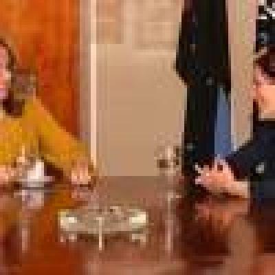Alicia Kirchner recibió a la rectora de la Universidad de Sarmiento