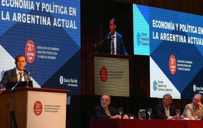 """Gutiérrez a los inversores: """"Neuquén tiene previsibilidad jurídica y económica"""""""
