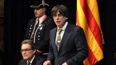 Anuncian el referéndum para la independencia de Cataluña