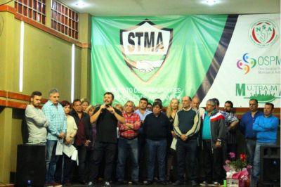 Doval asumió la Secretaría General de los municipales de Avellaneda