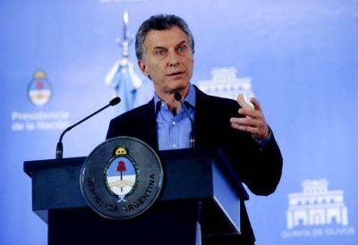 Macri, sobre el porcentaje de pobreza: