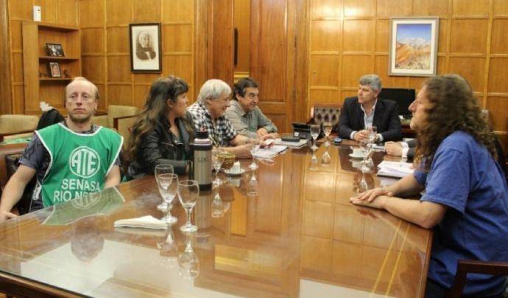 El gobierno recibió a dirigentes de ATE por conflicto en el SENASA