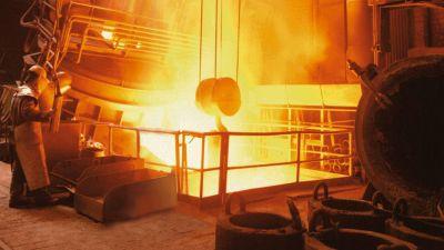 La actividad industrial cayó al peor nivel en 18 meses