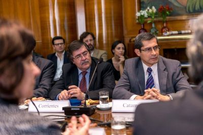 Corrientes ratificó su interés en el financiamiento de obras públicas