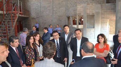 Legisladores destacaron los avances de las obras en Villa Urquiza