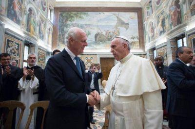"""El Papa sobre Siria e Irak: """"El mal no tiene la última palabra"""""""