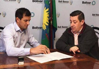 Eduardo Bucca y N�stor �lvarez promueven el intercambio entre Bol�var y Guamin�