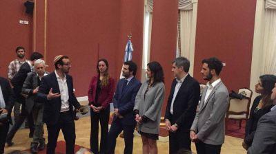Argentina. Rosh Hashan�: El shofar son� en la Casa Rosada