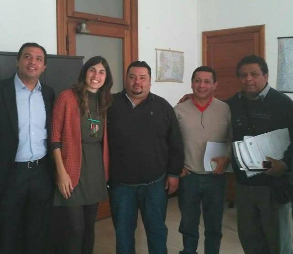 Intendentes catamarqueños se reunieron con Asuntos Municipales de Nación