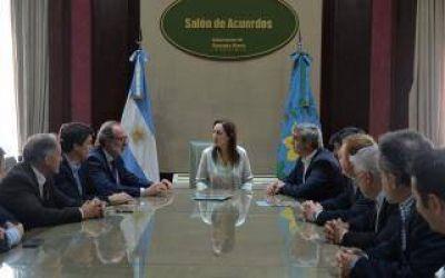 Convenio para que todos los vecinos de San Antonio de Areco tengan agua potable