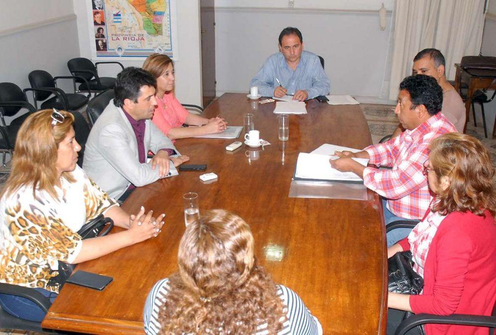 Diputados justicialistas recibieron a SER SALUD